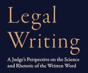 Book Review: A Few More Details About Judge Bacharach's Legal Writing