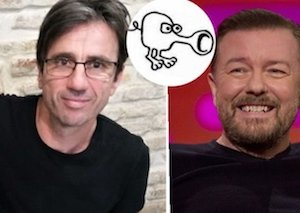 Marine biologist in epic TM battle with  Ricky Gervais