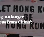 Hong Kong 'no longer autonomous from China': Pompeo