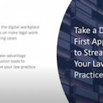 Webinar with ABBYY | Take a Digital First Approach to Streamlining Your Law Practice