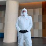 Florida Criminal Defence Lawyer Wears Hazmat Suit To Court