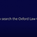 How to search the Oxford Law Citator