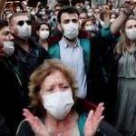 Turkish lawyers protest as parliament debates bar association bill