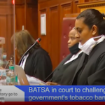 Court proceedings in the case of British American Tobacco against government continues in the Western Cape High Court.
