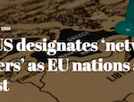 Libya: US designates 'network of smugglers' as EU nations agree blacklist