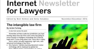 Internet Newsletter for Lawyers July/August 2020 Now Published