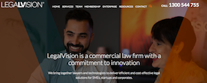 Article: How LegalVision is disrupting legal services