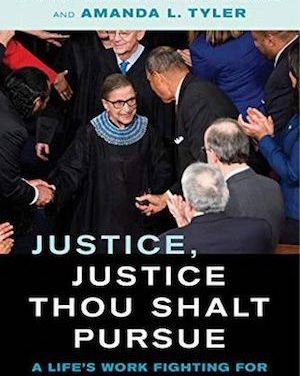 Article: Ruth Bader Ginsburg Wrote One Last Book, and It's Coming Out Soon