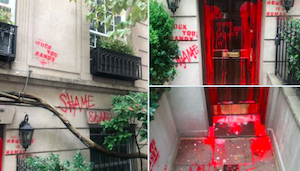 New York: Home of Randy Mastro, Lawyer for Shelter Opponents, Vandalized With Red Paint