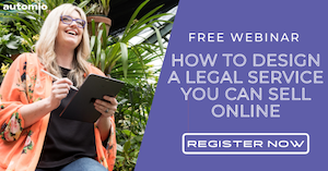 ONLINE WORKSHOP: How To Design A LegalService You Can Sell Online