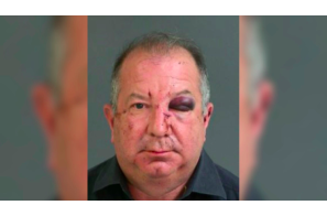 Woman punched lawyer after he tried to choke girlfriend at bowling alley, police say