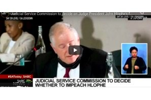 South Africa: Judicial Service Commission to decide on Judge President John Hlophe's fate