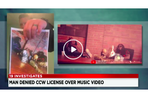 Cleveland man denied concealed carry permit renewal after deputies watched a music video he appeared in 3 years ago
