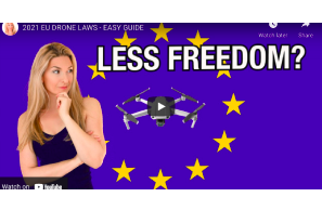 2021 EU Drone Laws – Easy Guide