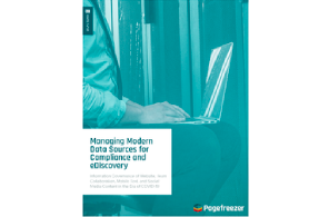 Managing Modern Data Sources for Compliance and eDiscovery