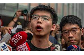 Hong Kong activist Joshua Wong jailed for further 10 months over June 4 assembly