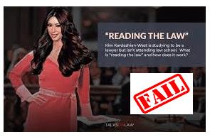 Kim Kardashian admits to failing 'baby bar' law exam twice
