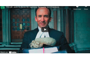 John de Bono QC, a lawyer specialising in criminal negligence law at Serjeants' Inn Chambers in London, explains how his degree in Theology led on to a career in law