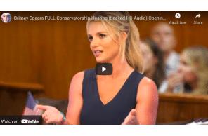 Britney Spears FULL Conservatorship Hearing (Leaked HQ Audio) Opening Testimony