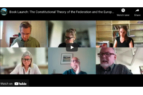 Oxford Law Faculty: Book Launch: The Constitutional Theory of the Federation and the European Union