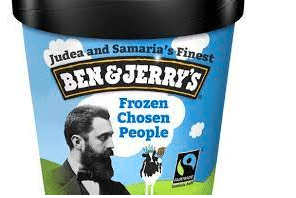 """Israeli NGO to scoop up Ben & Jerry's West Bank trademark to protest boycott – Promise """"Zionist Flavours"""""""