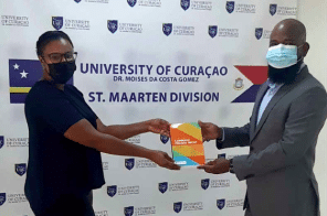 New Tax Title Presented To St. Maarten Law School Library
