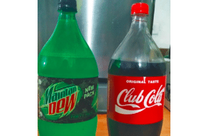 Nepal: Buy Mountain Dew, you get Maintan Dew. Trademark infringement is on the rise