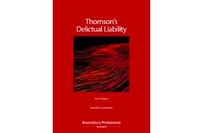Due 28 October:  Thomson's Delictual Liability