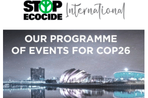 Ecocide @ COP26