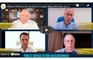 Video - Inside Asian Gaming: Macau Gaming Law revisions: A super deep dive from our esteemed panel of experts